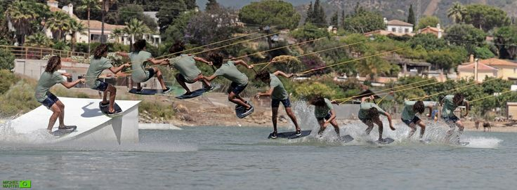 Rubén Ortiz at WakeboardCenter Marbella.  Pic by MichelMartinPics