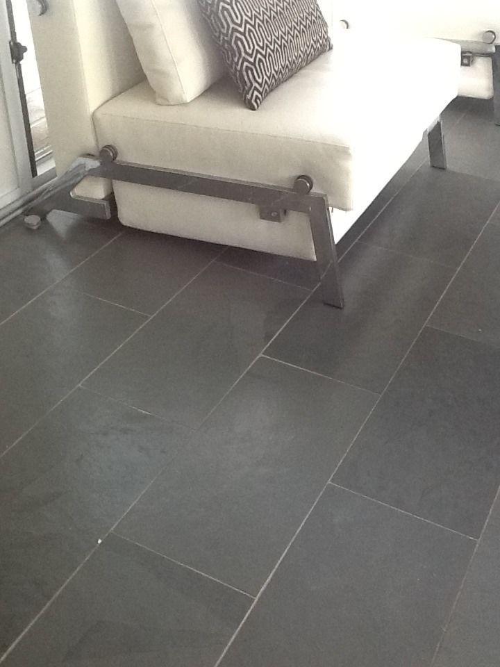 Grey Plank Slate Tile Floors Via Kym Lot 109 Homes Pinterest The O 3
