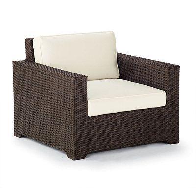 Palermo Lounge Chair Cushions - Resort Stripe Air Blue Rain, Custom Sunbrella Rain - Frontgate
