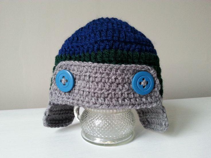 chłopięca czapka na szydełku, boys cap on crochet, video tutorial