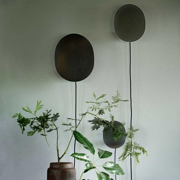 Métal Baudruche Ballon Applique Tine Noir Murale En Forme De Mat K KJcT13lF