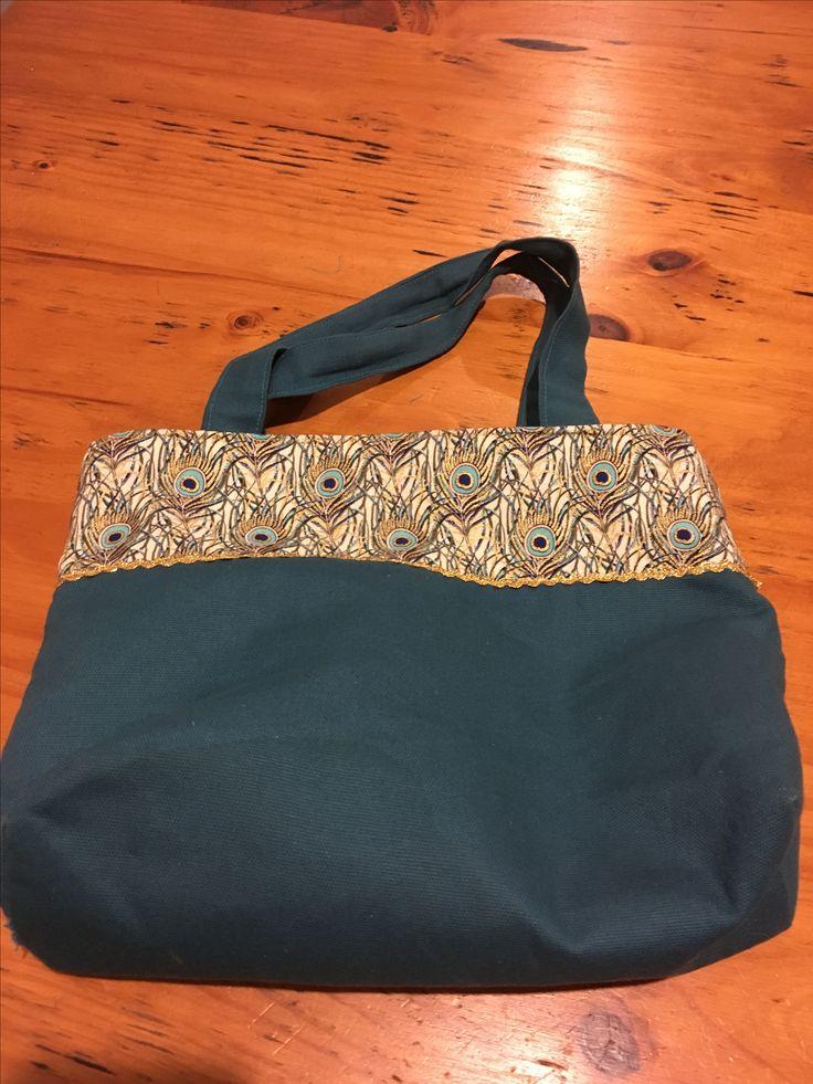 Small handbag.