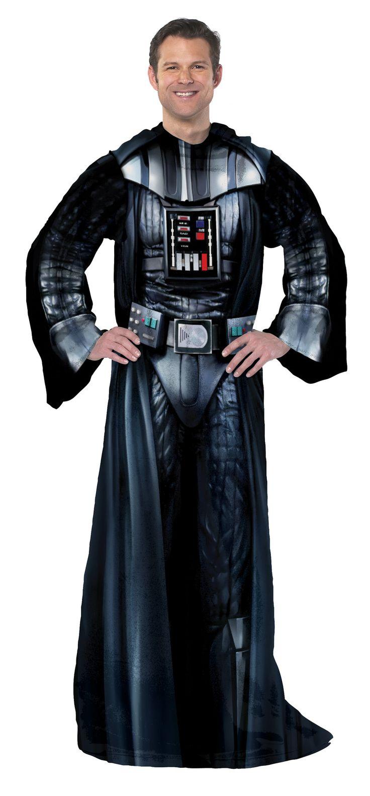 Star Wars Classic Being Darth Vader Fleece Throw