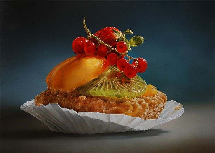 REALISTIC PAINTING - By Tjalf Sparnaay