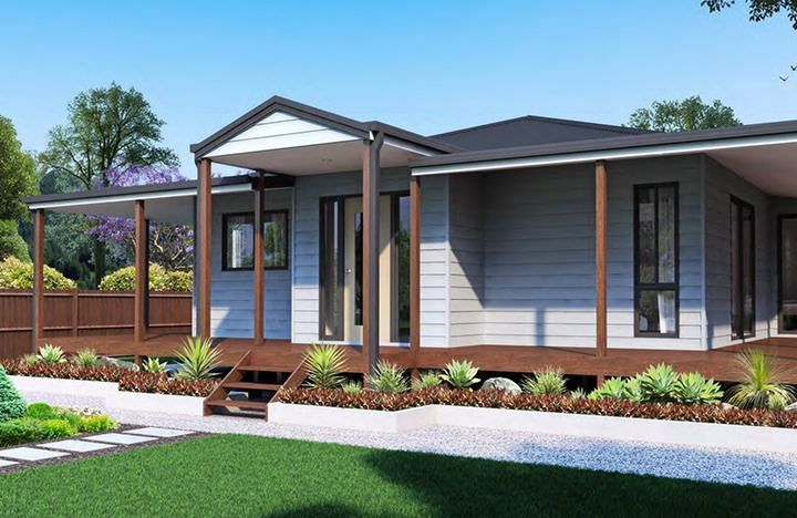 Ibuild Kit Homes Bendigo 2 Bedrooms Kit Homes Australia Kit Homes House Design