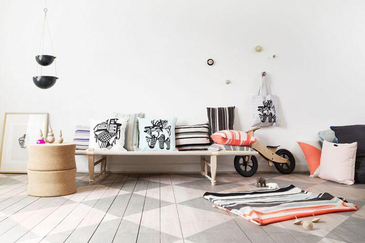 De Smaaktwist: geschilderde vloeren   Woonguide.nl