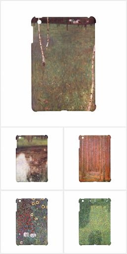 Landscape iPad cases