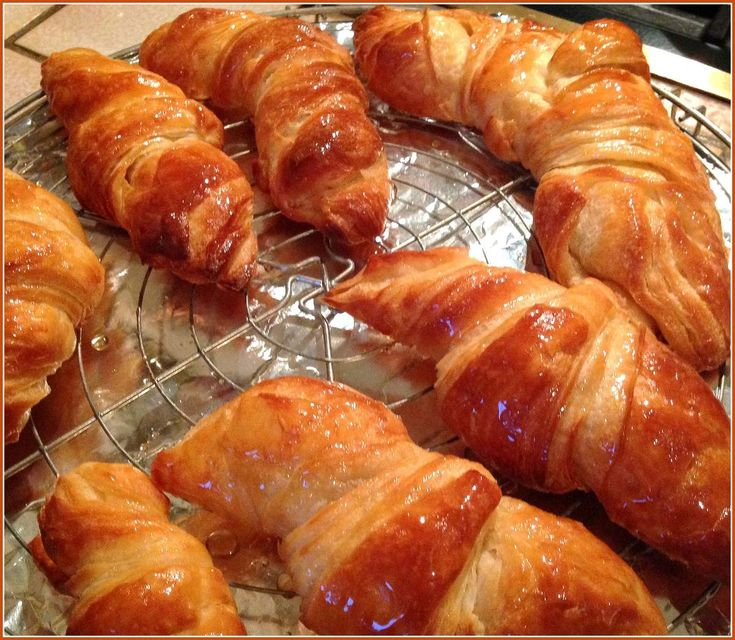 Pâte levée feuilletée pour réaliser de jolis croissants et de belles chocolatines