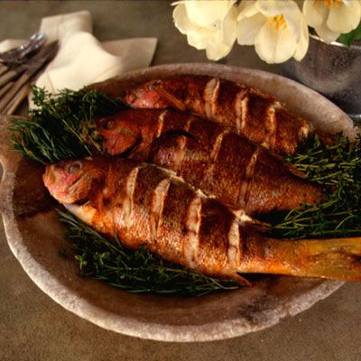 Roasted Snapper Fillet And Sustainable Seafood Recipe — Dishmaps