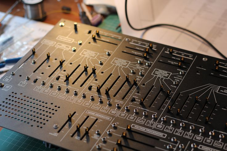 Arp 2600 clone TTSH. Built by Box Emissions Systems.
