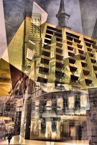 Edificio in mushup