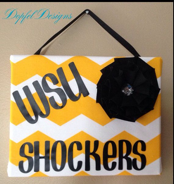 PERFECT COLORS FOR MIZZOU  College Chevron Wall Hanging on Etsy, $15.00