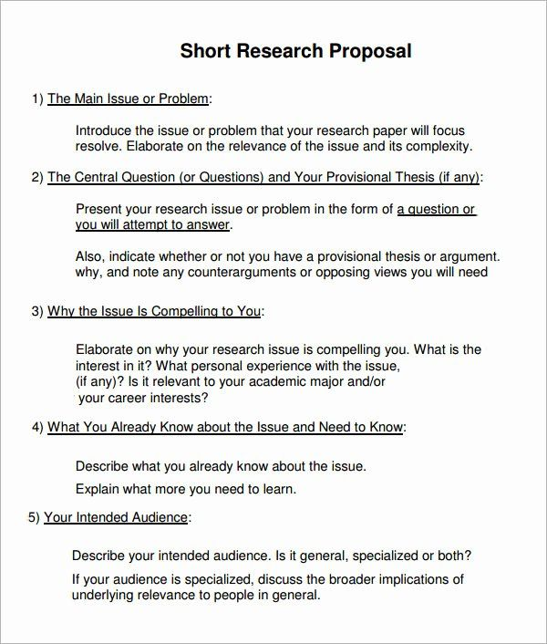 Undergraduate Research Proposal Examples Elegant Sample Research Proposal Template 10 F In 2020 Research Proposal Writing A Research Proposal Research Proposal Example