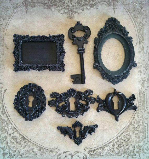 decorazioni in resina chiavi antiche di lapetitedeco su Etsy