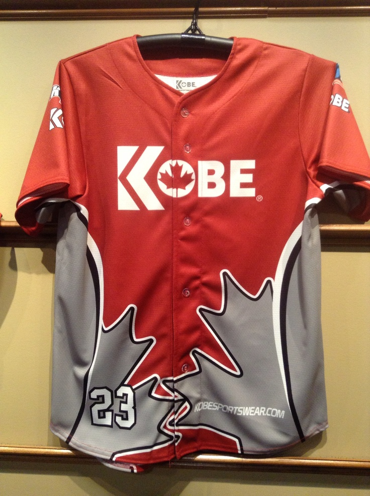 Custom Jersey of the Day! Our sublimated baseball jersey!