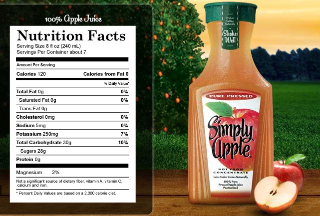 Simply Apple Juice it's my favorite, but I have to be