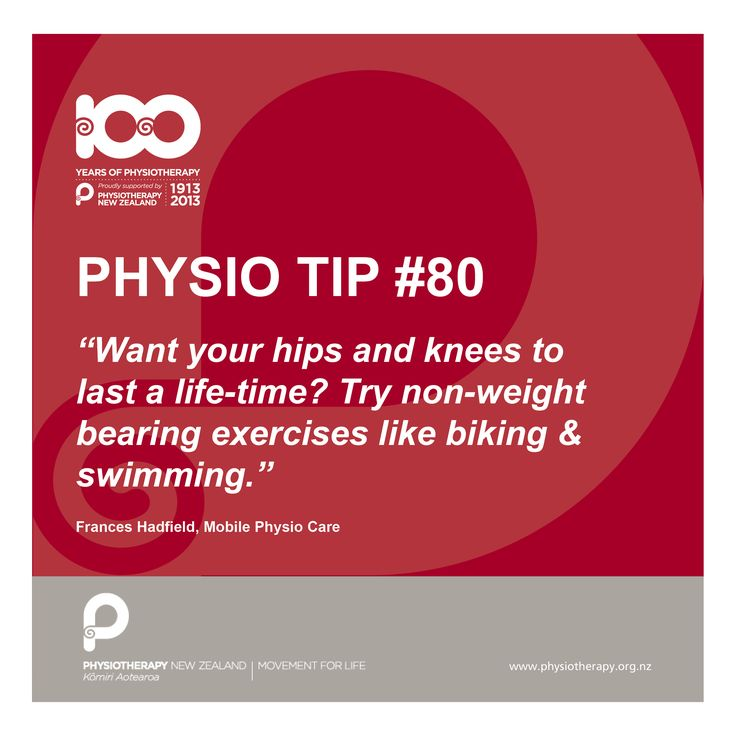 #physio tip: want your hips and knees to last a life time?