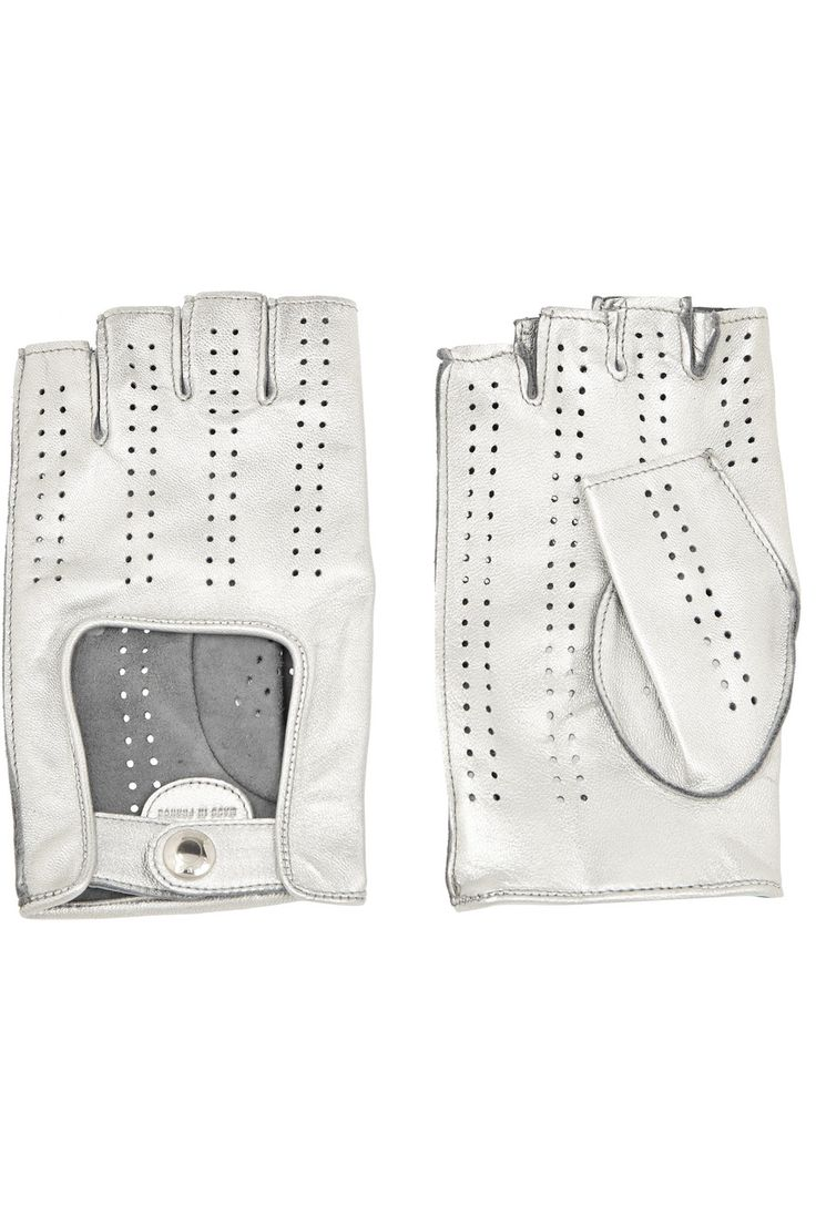 Driving gloves for sale philippines - Shop On Sale Causse Gantier Bolide Perforated Leather Fingerless Gloves Browse Other Discount Designer Gloves More On The Most Fashionable Fashion Outlet
