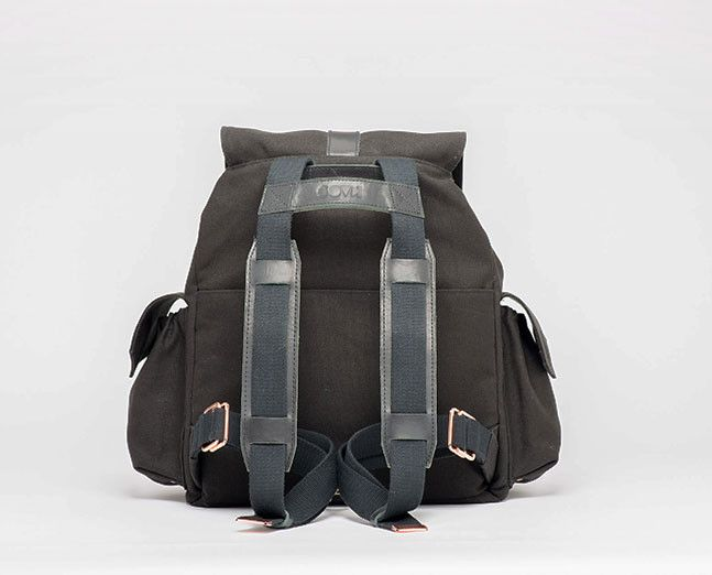 Never mind a diaperbag. go for a backpack! KAOS Ransel is a unisex diaper-backpack designed in Norway. Custom made.
