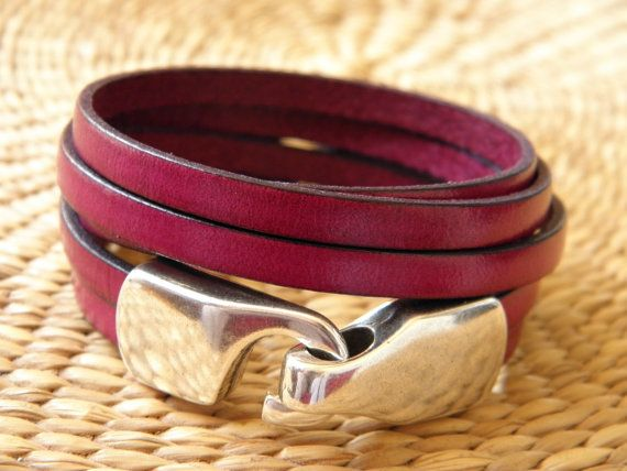 Leather bracelet Bahia Del Sol  SANOA 2 collection  by bahiadelsol
