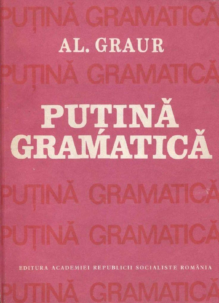 Al.graur - Puţină Gramatică