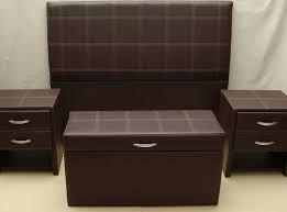 Resultado de imagen de respaldos modernos cama veladores incluidos