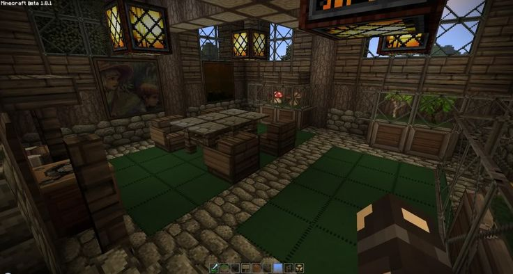 Minecraft medieval house interior design decorating 78266 for Minecraft exterior design ideas