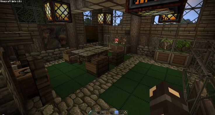 Minecraft Medieval House Interior Design Decorating 78266 Minecraft Pinterest House