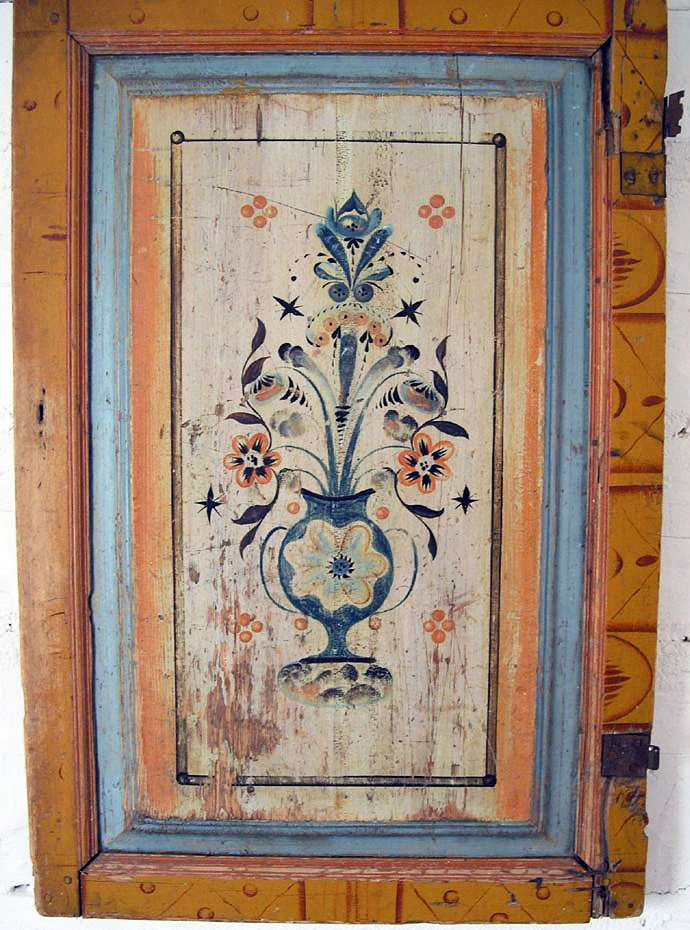 Överkalix painting - maybe rosemaling certainly can be used for inspiration