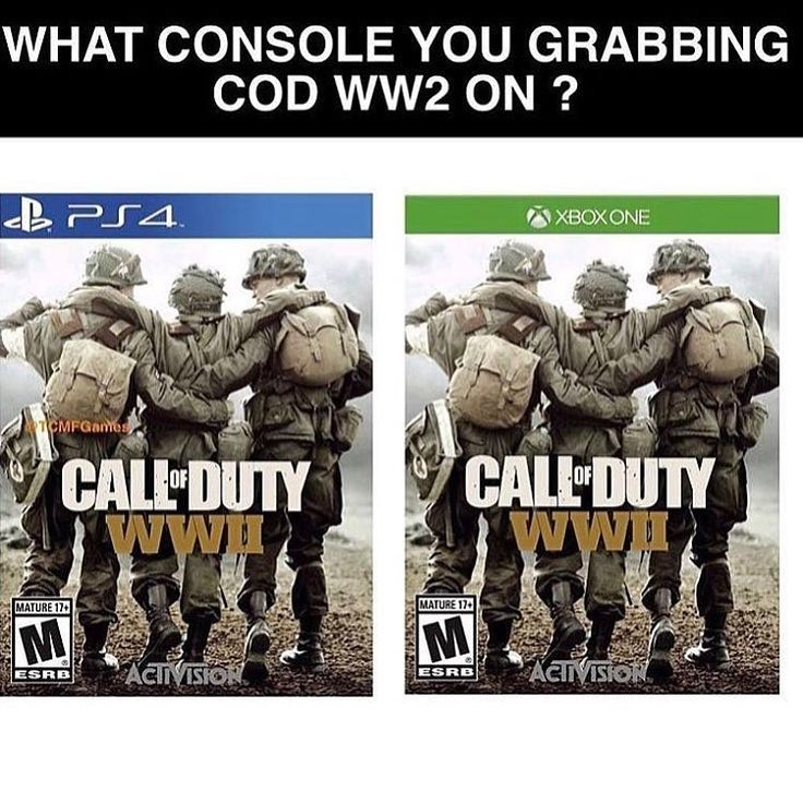 Buying Cod WW2 on PS4 or Xbox One?