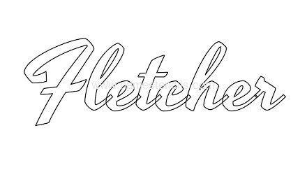 FLETCHER. Meaning: Maker of Arrows