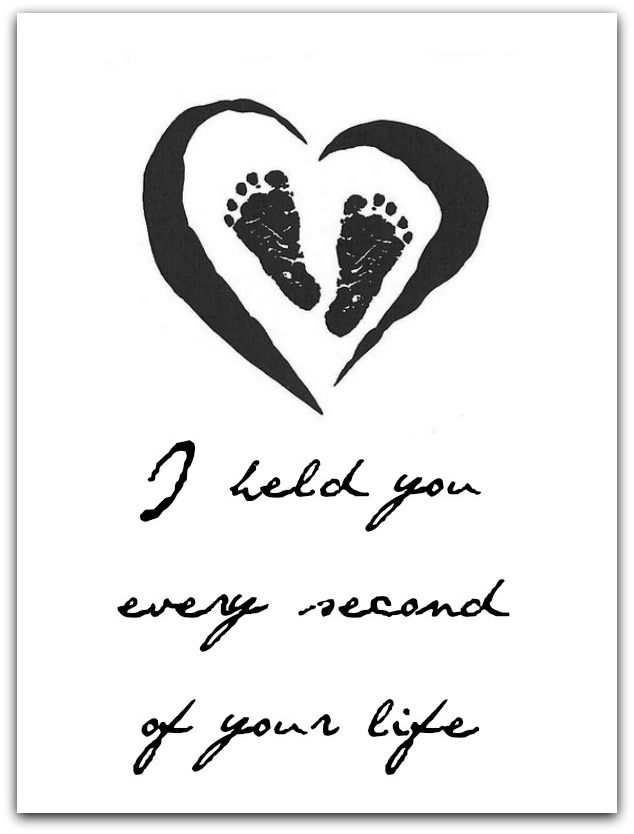 "Miscarriage Quotes, ""I held you every second of your life"". For my two angels, never forgotten"