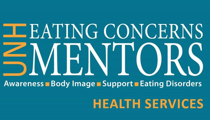 We are looking for UNH students to join our Eating Concerns Mentors program. Apply online!  University of New Hampshire; College Health