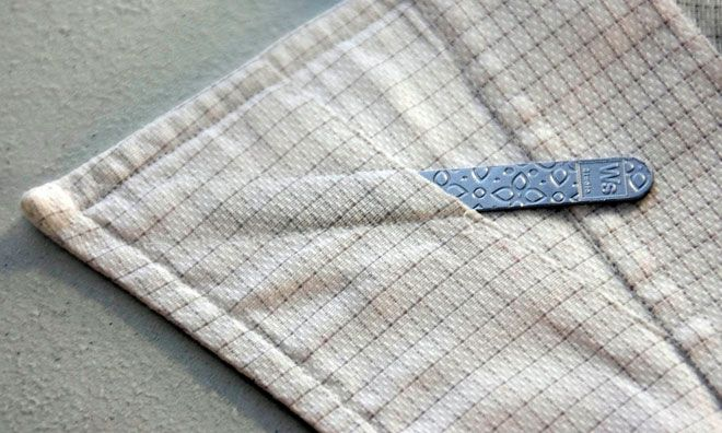 """Why you should use collar stays  Simply put, collar stays are a small details that make your dress shirt collar points look crisp.  A  Man's collar directly frames his face; he should give it a bit more attention as it will be seen in any picture and is impossible to hide.   Remember: """"sharpness is in the details""""."""