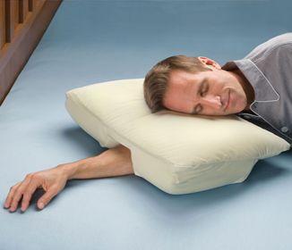 oreiller ergonomique cervical est con u pour supporter votre cou dans une bonne position pendant. Black Bedroom Furniture Sets. Home Design Ideas