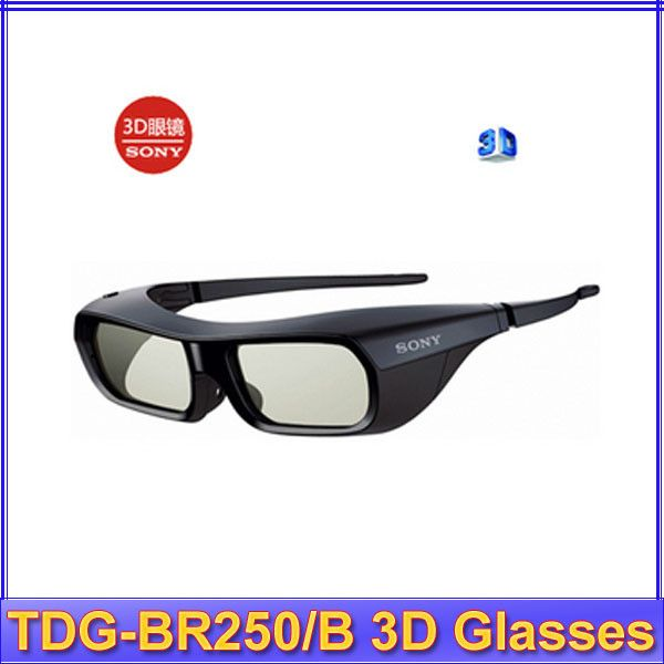 Free Shipping Gift Idea New Brand NEW Genuine 3D ACTIVE GLASSES FOR SONY TV TDG-BR250/B