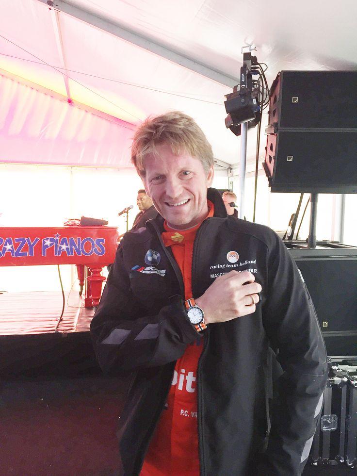 GT4 racing driver Pieter-Christiaan van Oranje: proud owner of the LEMARQ Monza Chrono. www.lemarqwatches.com