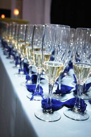 Bubble & Bling: Purchase a glass of champagne for $100. One of the glasses has a tied-on pouch containing a diamond.
