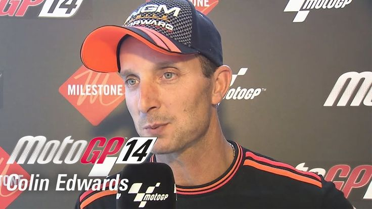 Colin Edwards talks about his experience with MotoGP 14 the videogame.