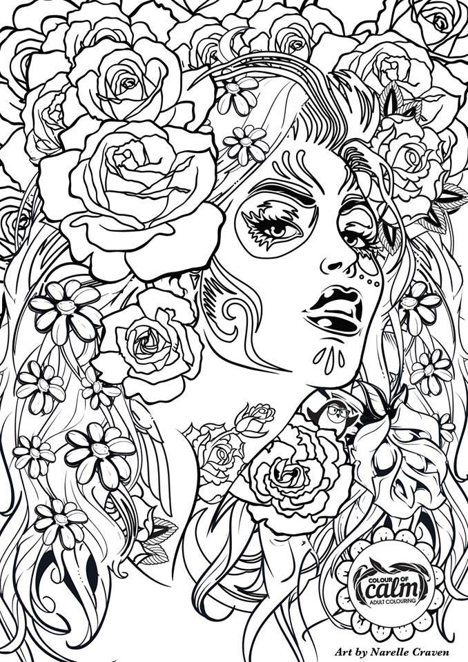 free artist coloring pages - photo#13