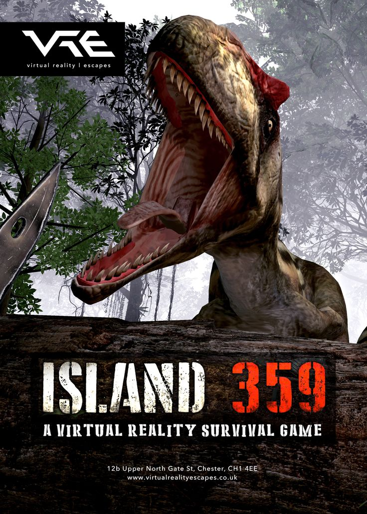 You step off the chopper and into the sweltering heat of the jungle, grab your gear from the old loot drop, and head off in search of fame, fortune, and prehistoric beasts. Nobody knows exactly why dinosaurs have shown up on this remote jungle island, but you know you can take them out. You've been hired as a mercenary to kill as many of these things as possible, and the good news is the checks have all cleared. #virtualreality #vr #headset #virtualrealityescapes