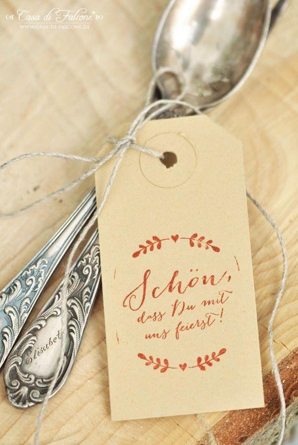 Schöner heiraten: rustikale Hochzeitssstempel Ranke I Casa di Falcone