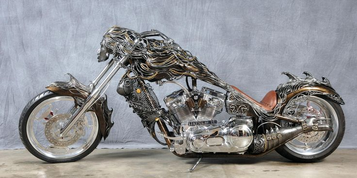 "Amazing Custom Metal Sculpture: The ""Siren Of TI"" Chopper ..."