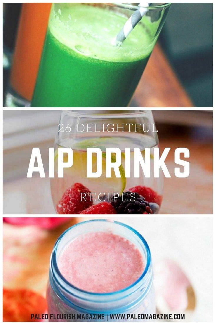 Having a party or just love drinks? This Delightful AIP Drink Recipes list is just what you need - from smoothies to flavored water to cocktails.