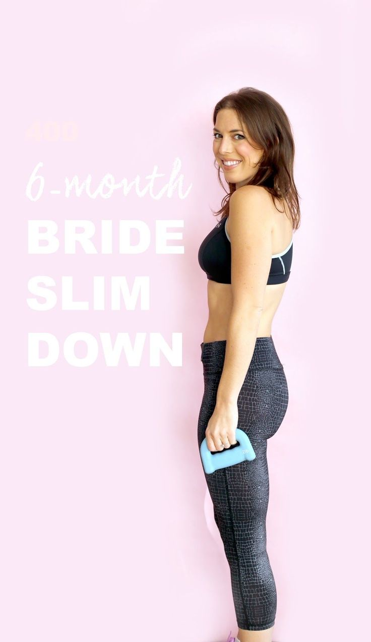 6-Month Wedding Weight-Loss Plan / #HeyEEP Real-Girl Wedding Diet