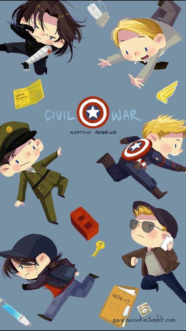 40 breathtaking civil war wallpaper for iphone marvel - Avengers civil war wallpaper ...