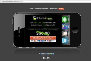 Αρκετοί κάτοχοι iPhone αγορασμένων από χώρες του εξωτερικού επιδιώκουν να ξεκλειδώσουν τις συσκευές τους , ώστε να μπορέσουν να εγκαταστήσουν σε αυτές διαφόρων ειδών εφαρμογές ή να μπορέσουν να χρησιμοποιήσουν επιπλέον υπηρεσίες . Υπάρχουν εκατοντάδες (ίσως και χιλιάδες) ιστοσελίδες που υπόσχονται ξεκλείδωμα της συσκευής και δυστυχώς , υπάρχουν χιλιάδες χρήστες κάτοχοι οι οποίοι πέφτουν θύματα εξαπάτησης  . http://www.safer-internet.gr/iphone-unlock-scam/