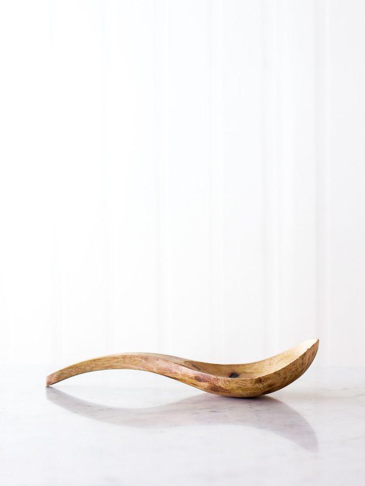 Mango Wood Server