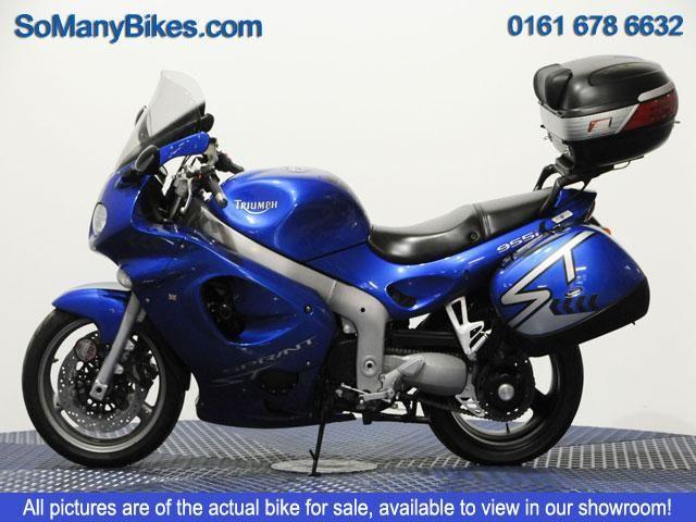 TRIUMPH SPRINT 955 cc SPRINT ST 955 - http://motorcyclesforsalex.com/triumph-sprint-955-cc-sprint-st-955/