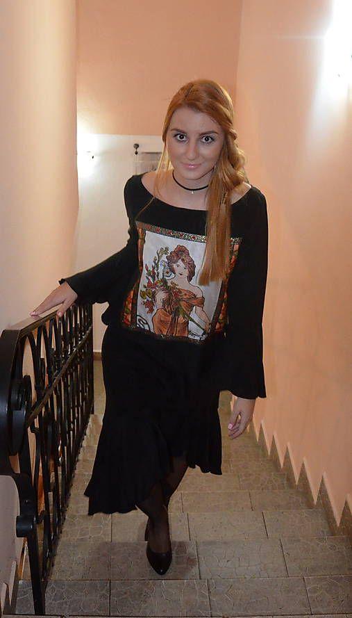 Angeli / Hodvábne šaty